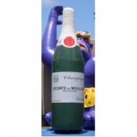 15 Ft Champagne Bottle