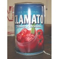 6 Ft Clamato Juice Can