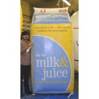8 Ft Tall Milk Carton