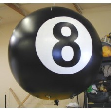 10 Ft Helium Ball 1 Color with Your Logo