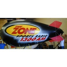 24 Ft Helium Nylon Blimps Digital Logos with Your Logo