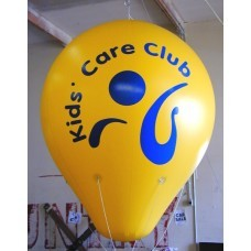 8 Ft Helium Hot Air Shaped 1 Color with Your Logo