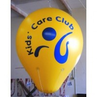 7 Ft Helium Ball 1 Color with Your Logo
