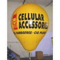 12 Ft Helium Hot Air Shaped 2 Color with Your Logo