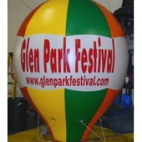 12 Ft Helium Hot Air Shaped Full Digital with Your Logo
