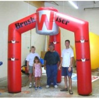12 Ft Inflatable Tradeshow Booth