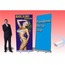 PromoBanner Pull-Up Large 47.25 Inch by 80 Inch - Qty 6