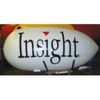11 Ft RC Blimp 2 Color with Your Logo