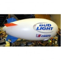 11 Ft RC Blimp Digital Logos with Your Logo